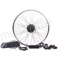 MOTORLIFE 2015 Latest Hub geared brushless 48v 500w electric bicycle conversion kit,fat tire ebike kit