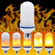 Led flame effect bulb. Led flame effect fire light bulbs.(LFB02)