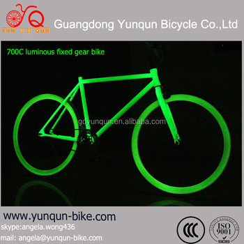 2016 new design 700C colorful cheap price luminous fixed gear bicycle/cycle/bike/bikes/bisiklet