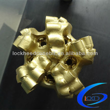 Lockheed pdc cutter bits for oil mining well drilling