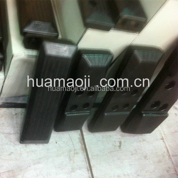 Rubber track pad for excavator, bulldozer made in China