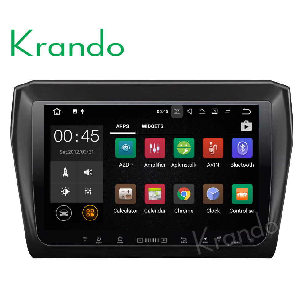 Krando Android 7.1 8'' car audio radio multimedia player for SUZUKI Swift 2017+ touch screen car stereo with bluetooth KD-BW939