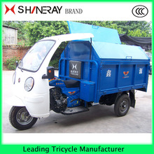 The cheap cheap adult 3 wheel car tipper cargo tricycle for garbage are on sale