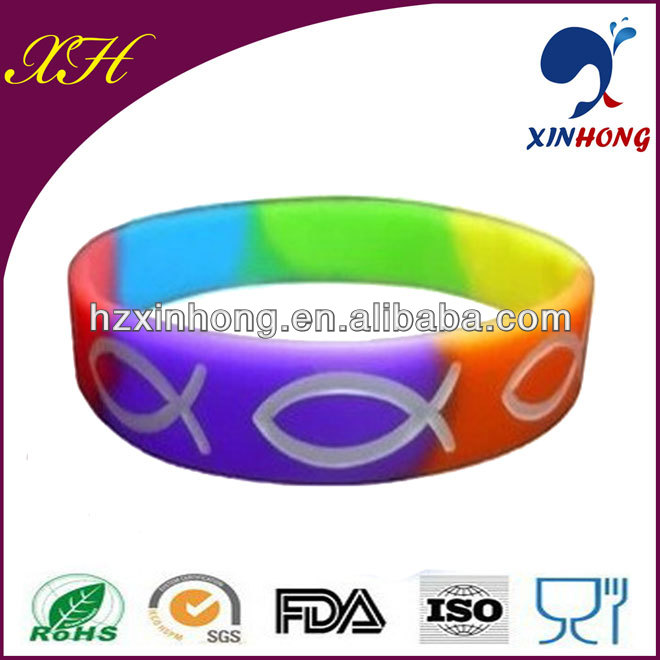 2014 New Nice Silicone Meaningful Engraved Wristband
