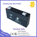 rechargeable vrla battery 6v 1.3ah storage lead acid battery