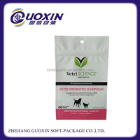 colorful printing food grade plastic bag for pet food