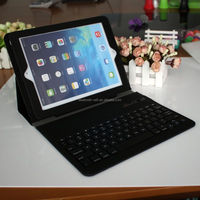 2015 Wholesale Brand New wireless keyboard&mouse combo, 8 tablet case, aluminium case bluetooth keyboard for ipad mini