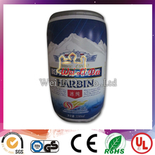 2016 WLD brand new inflatable Harbin beer bottle for promotion