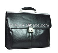 Leather Mens Black Briefcase X8004A130038