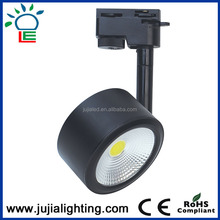 30W led track rail lights 2 phase 3 phase Surface Mounted High Power COB LED Track Light