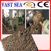PET PP PE PVC recycle plastic granules making machine price