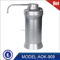 Silver luxury water softener no electricity,alkaline water softener domestic,PH+9.5 and ORP -300mv