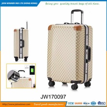 A great variety of styles Leopard Print Hardside Luggage Wholesale Uk