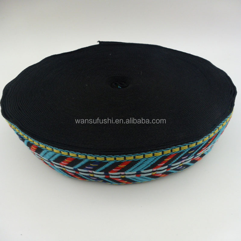 low price hot sale jacquard ribbon for bags