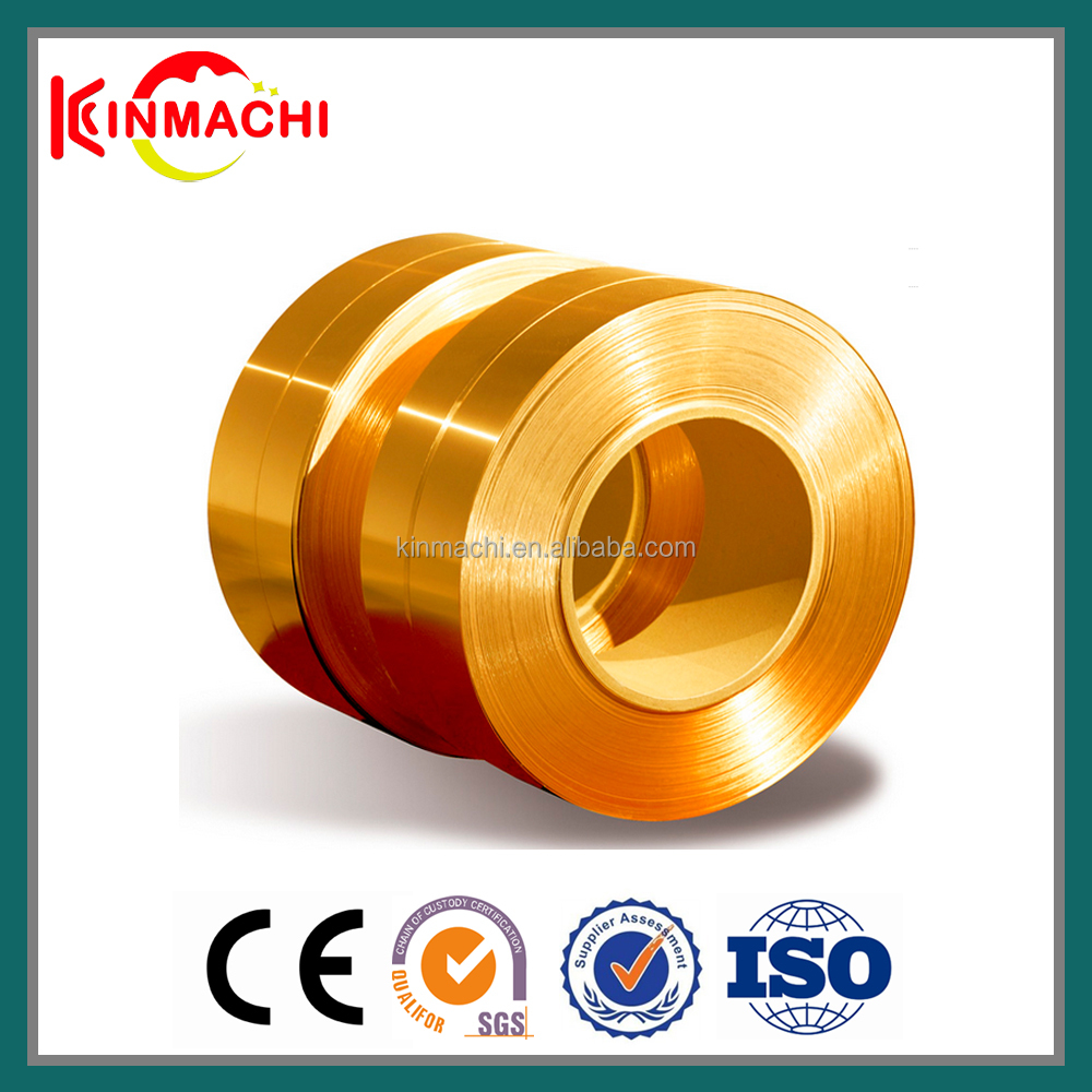 Unique Cu Zn Alloy C26800 Rolled Copper And Brass Strip