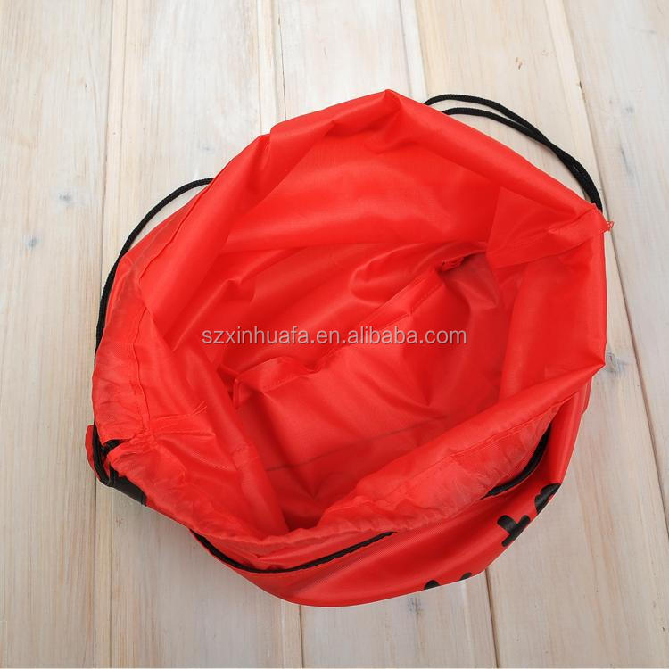 drawstring pouch eco-friendly waterproof drawstring packaging bag drawstring rucksack backpack womens