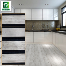 150 x 800 10.5mm thickness wear resistant non slip rectangle homogeneous wood grain effect floor ceramic tiles