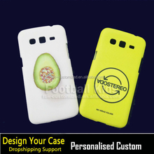 China supplier wholesale 3d Fruit a pill case for samsung galaxy grand 2 g7102 case printing 3d print custom case