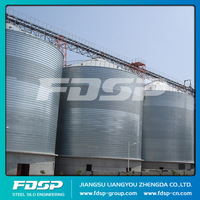 Hot Sale 3000T Capacity Wheat Storage Steel Silo Supplier/Corrugated Steel Silo for Flour Mill Price