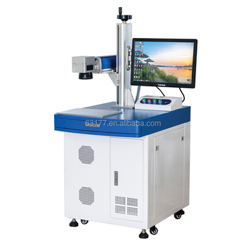 20w Fiber Laser Marking Machine with rotary attachment