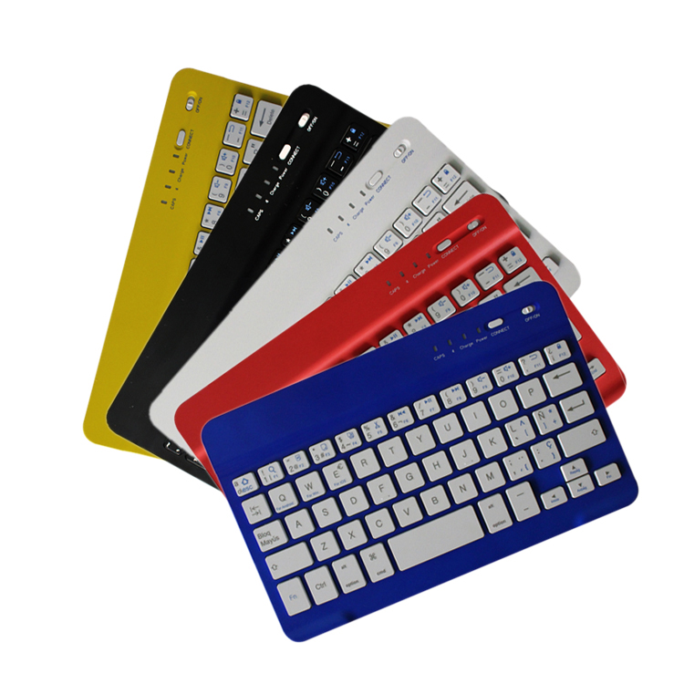 2016 mini new fashion design cheap slim wireless bluetooth keyboard for meidia player
