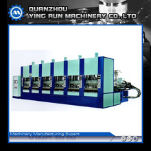 Automatic EVA foam injection moulding machine for shoe sole slipper crocs