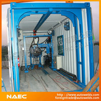 Movable-type Pipe Spooling Fabrication Production Line