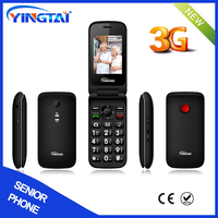 New GSM Quad Bands 3G Wcdma Senior Phone
