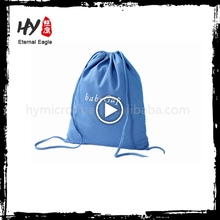 Hot selling canvas drawstring shoe bags with great price
