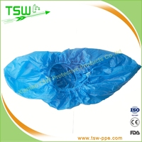 Disposable Nonwoven PP/ PE /CPE Shoe Cover for Food Industry