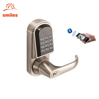 App Smart Code Lock Keyless Home Entry Support Android/Ios System