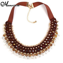 2015 New Arrival Fashion Luury crystal beads Pendants & Necklaces Vintage multilayer Statement Necklace Collares Jewelry B4216