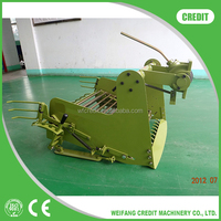 HOT PAINTING MINI TRACTOR MOUNTED SINGLE-ROW POTATO HARVESTER