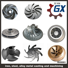 high quality open impellers for water pumps