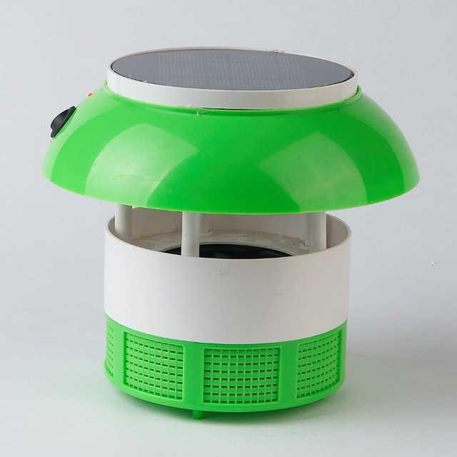 Africe hotsale with led lighting solar mosquito trap solar insect killer lamp
