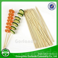 4.0x200mm round strong bamboo kebab meat skewers