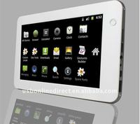 7 inch HDMI 1080P LED Tablet pc/MID/UMPC/laptop ,Android 2.2,Amlogic Cortex-A9,4GB,256MB