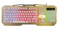 X25 backlight keyboard touch glare computer wired Internet LOL game metal keyboard