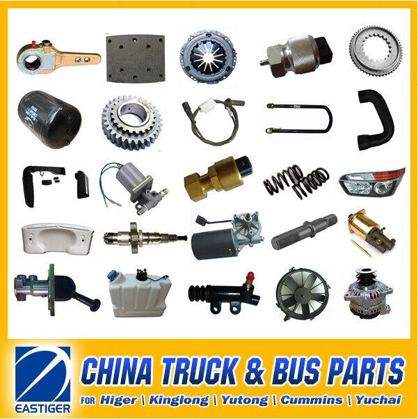 Over 200 Items KINGLONG bus spare parts