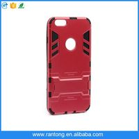 2in1 Iron Man Armor Rugged Case Stand Cover TPU+PC Combo For Smart Cell Phone