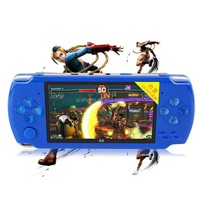 8GB Video Game Console 4.3 inch MP4 MP5 Players Handheld Game Player many free games ebook/FM/1.3 MP Camera