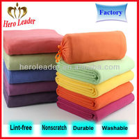 Two side brush anti-pilling polar fleece fabric made in usa