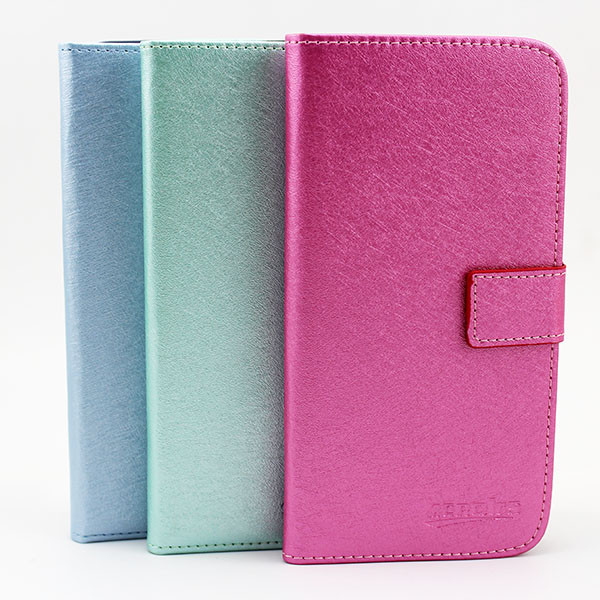 Flip wallet leather back cover case for samsung galaxy grand 2 g7106