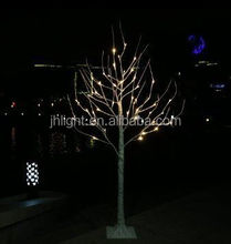 white branch artificial birch tree christmas lights for sale/hot sale tree branch lighting birch tree stree decoration