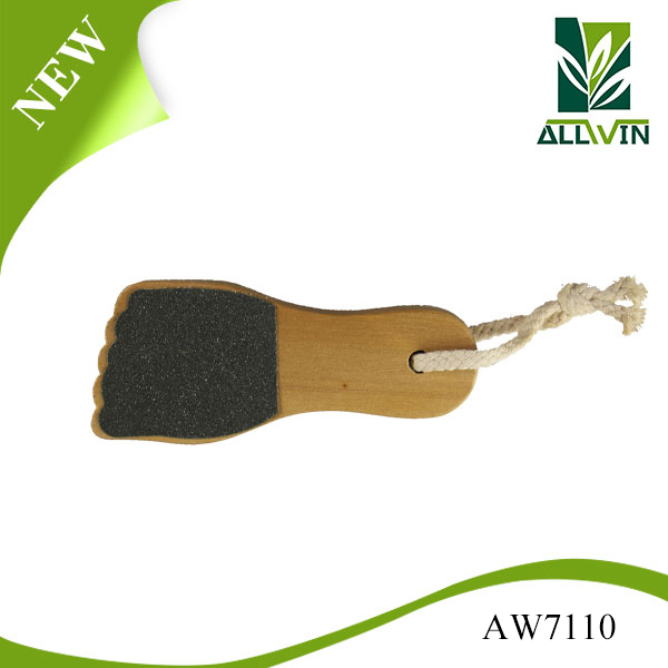 foot shape easy use wooden foot file