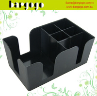 BPC03 plastic bar napkin straw holder and bar caddy