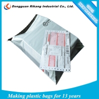 Wholesale plastic ldpe printed and grey custom mailing bags
