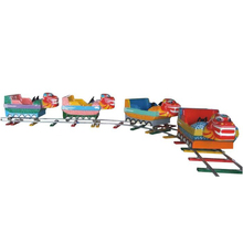 Best selling amusement park outdoor playground rides Kids Electric Train small track train for sale