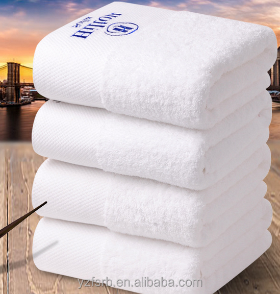 China manufacturer cheap price hotel towel set with long life
