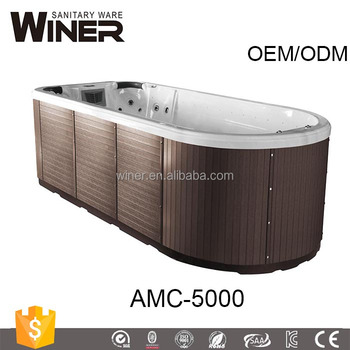 2017 Aifeel alibaba best sellers popular massage spa televisions with wifi swim spa acrylic pool swimming pool